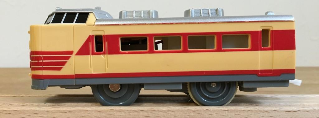 プラレール 485系特急電車