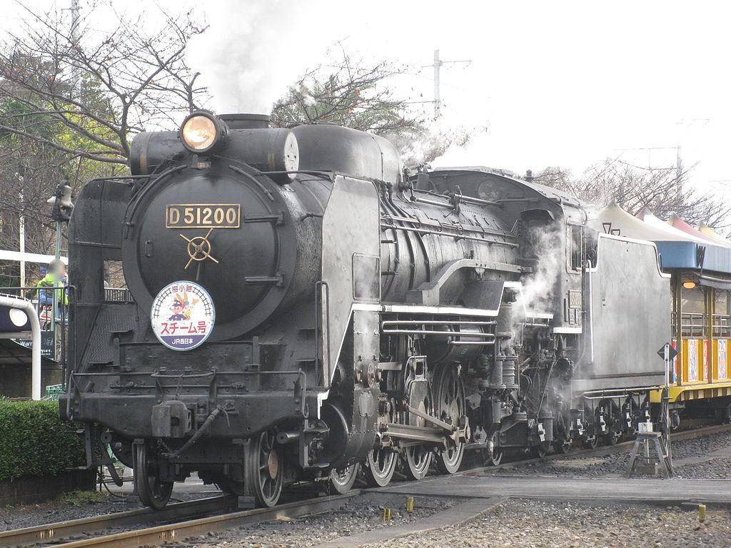 D51-200 蒸気機関車