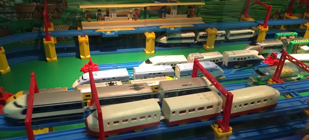 プラレール博 歴代新幹線