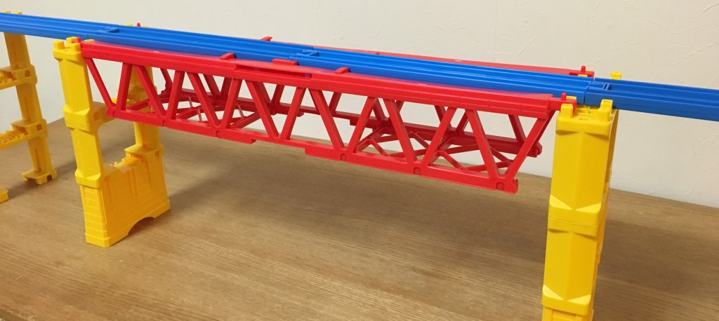 プラレール 大きな鉄橋