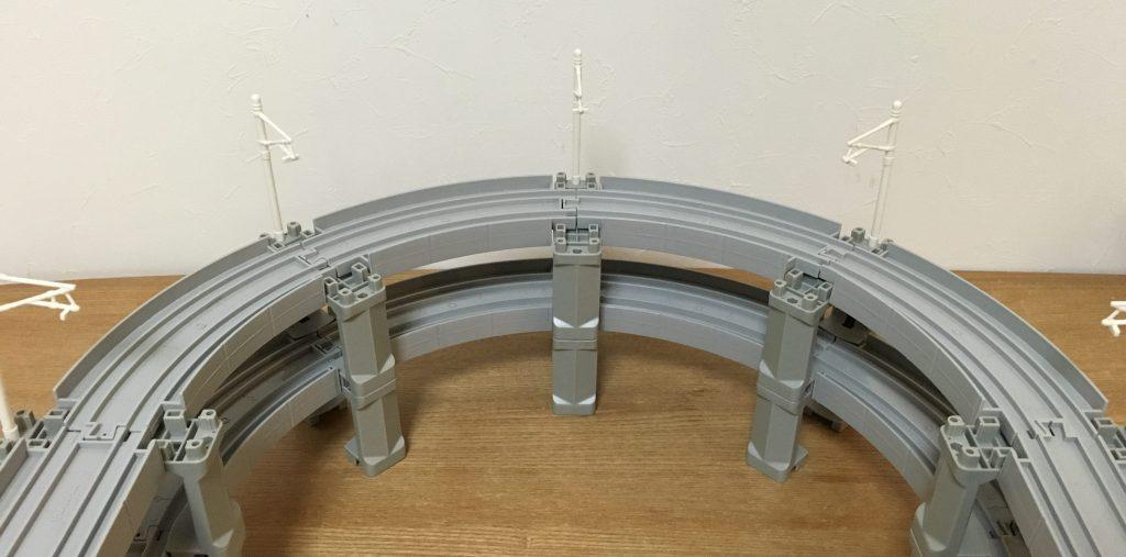 プラレール 高架曲線レール