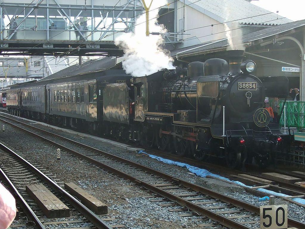 8620形蒸気機関車 58654号機
