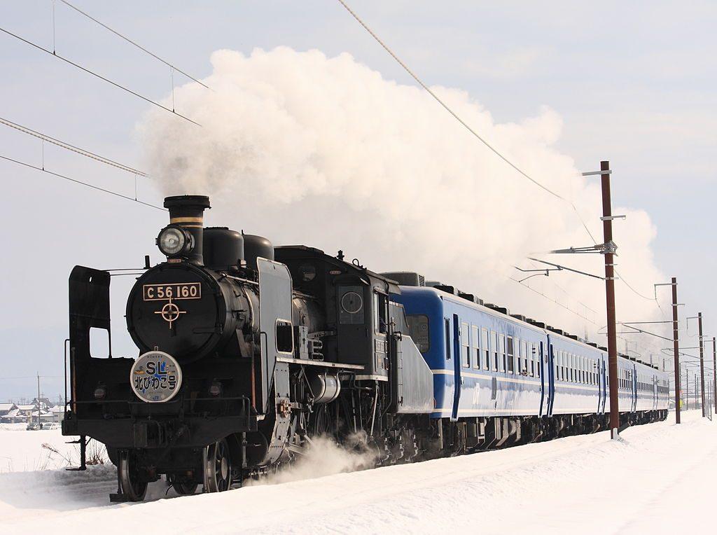 C56-160号 蒸気機関車 SL北びわこ号(Photo by:Mitsuki-2368)