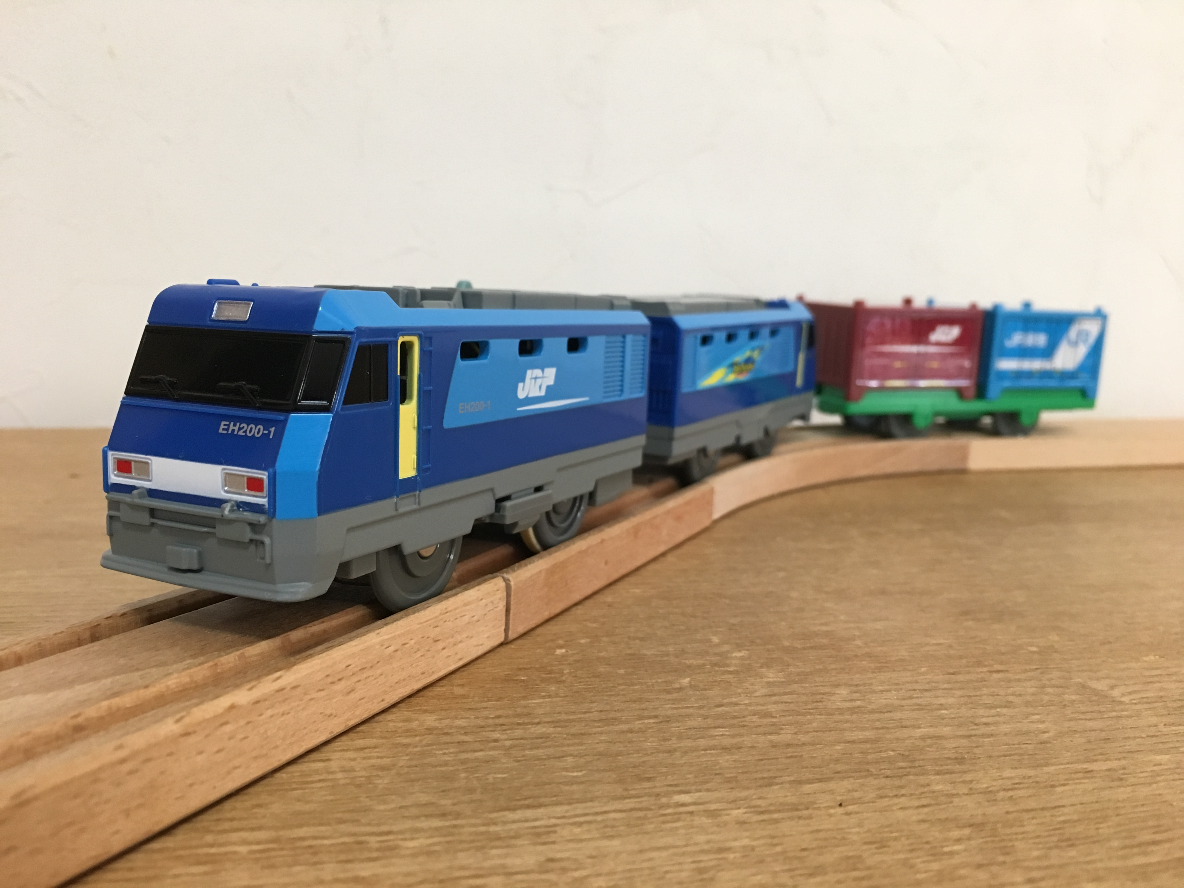 プラレール EH200形電気機関車 ブルーサンダー