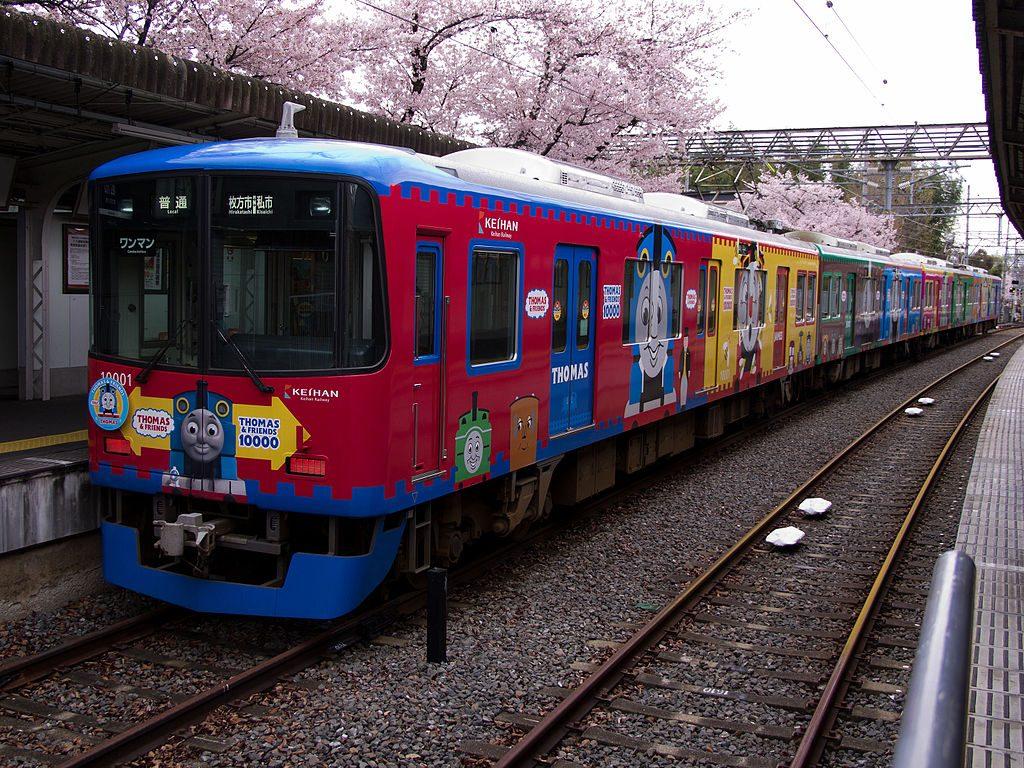京阪電鉄10000系(Photo by:Norihiro Kataoka)