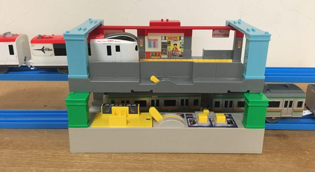プラレール サウンド駅