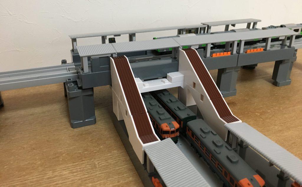 プラレールアドバンス 跨線橋