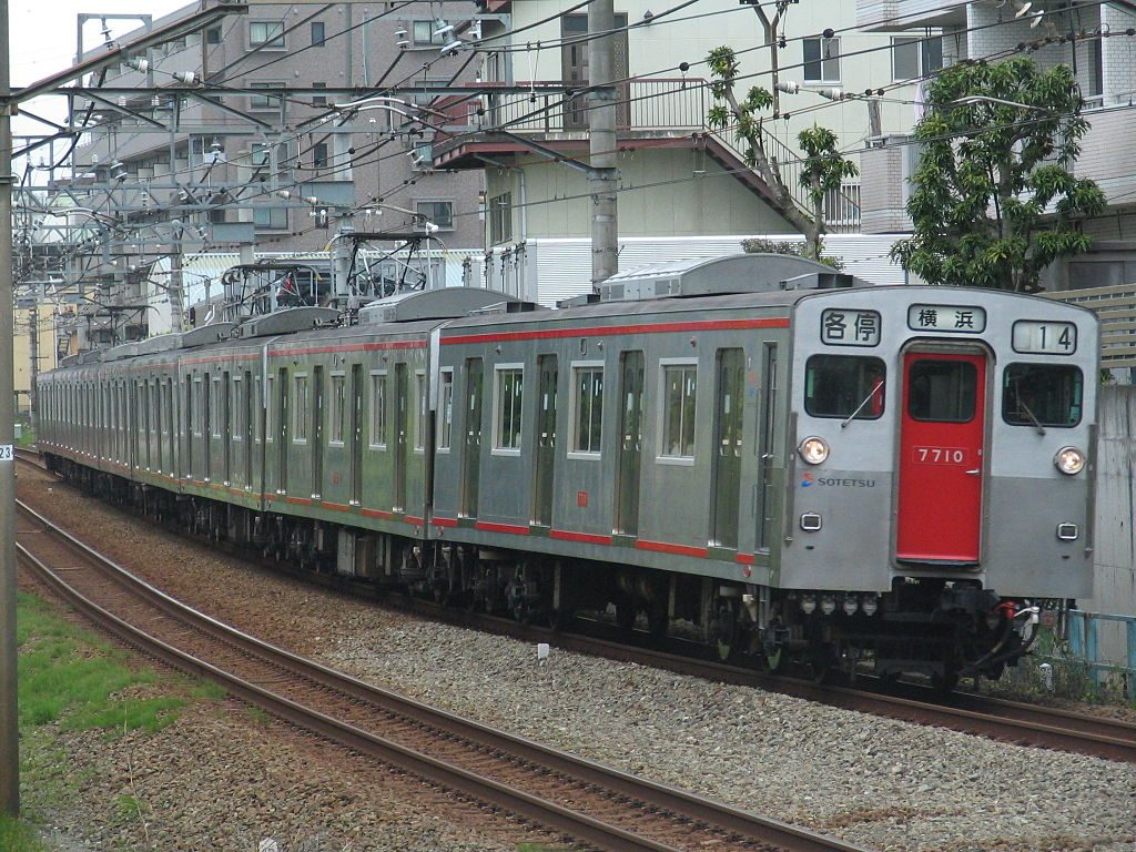 相鉄7000系(Photo by:Niyute)