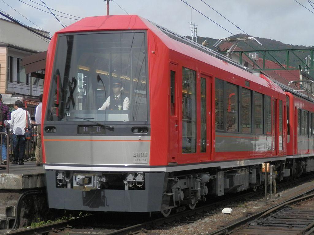箱根登山鉄道3000形