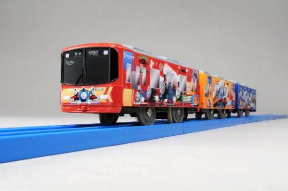 【限定】「プラレール 京阪電車10000系きかんしゃトーマス号2017」2017年10月に発売