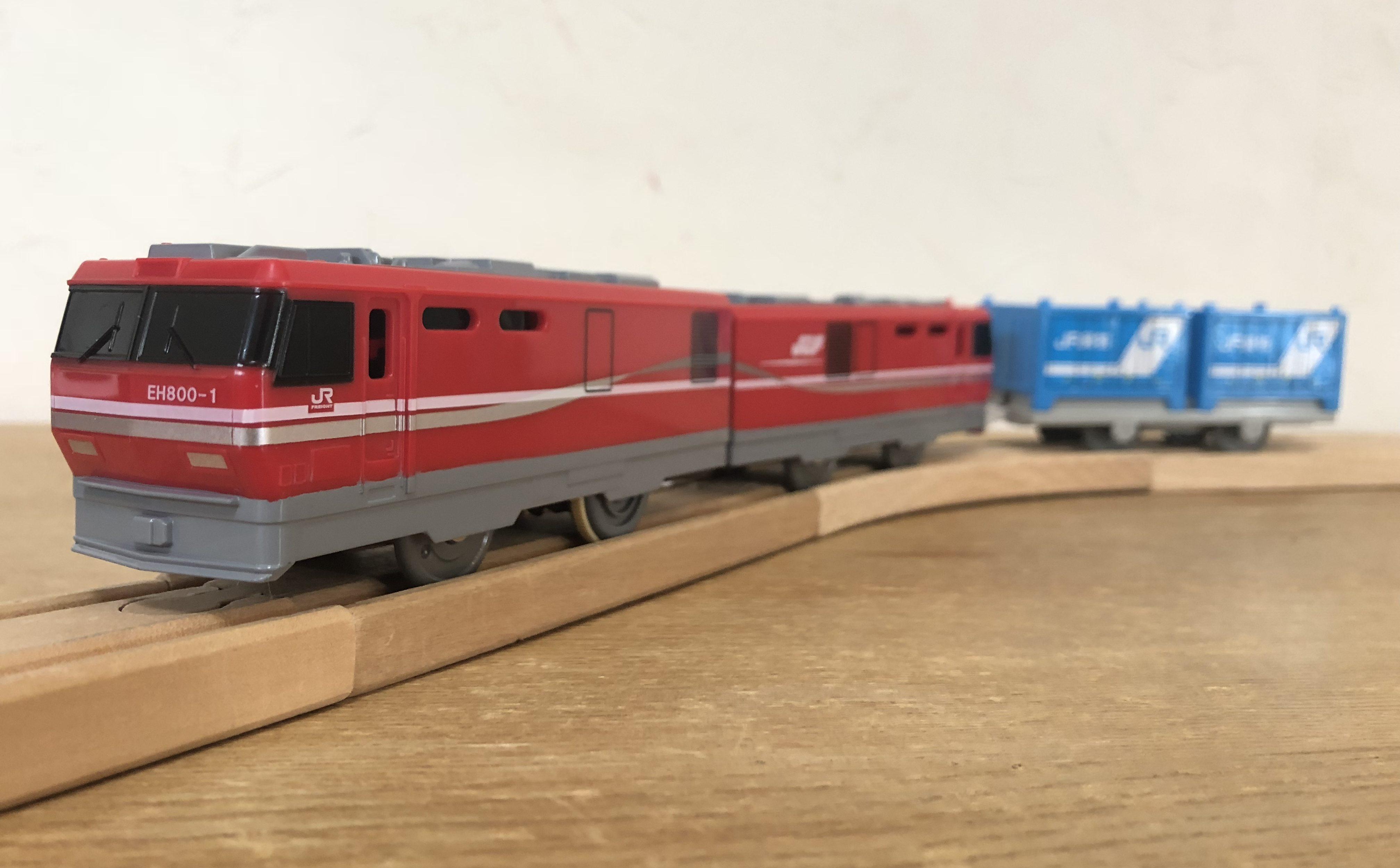 レビュー プラレール eh800形電気機関車 ぷらてつ