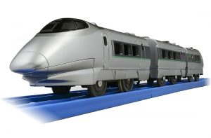 プラレール ぼくもだいすき! たのしい列車シリーズ 400系 新幹線 連結仕様 発売