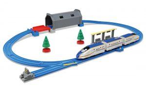 プラレール トンネルを照らそう! ライト付 E7系 新幹線 かがやきベーシックセット 発売