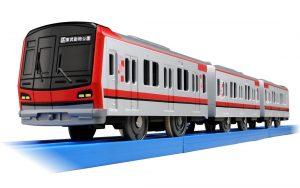 プラレール ぼくもだいすき! たのしい列車シリーズ 東武鉄道 70000系 発売