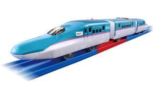 プラレール S-16 レールで速度チェンジ!! E5系 新幹線 はやぶさ 発売