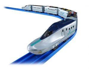 プラレール いっぱいつなごう 新幹線試験車両ALFA-X(アルファエックス)発売
