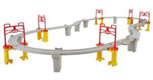 プラレール 高架を走らせよう!新幹線レールセット 発売