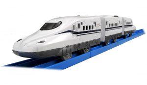 プラレール かっこいいがいっぱい! 新幹線 N700S確認試験車 立体レイアウトセット 発売