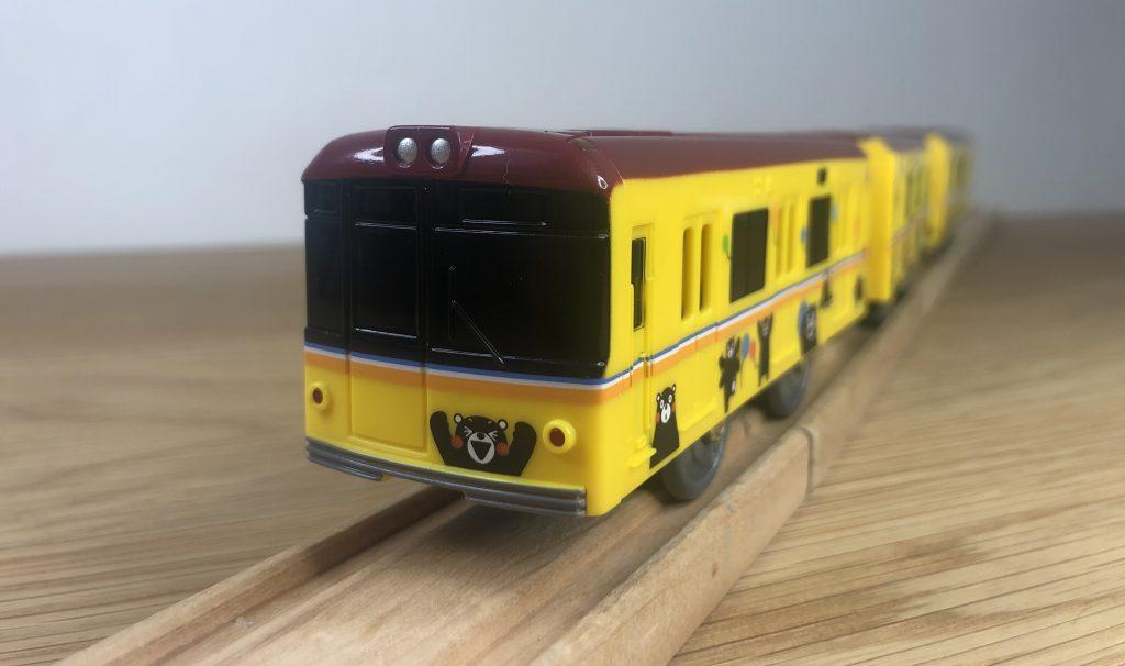 プラレール SC-09 東京メトロ銀座線 くまモンラッピング電車(銀座線1000系)