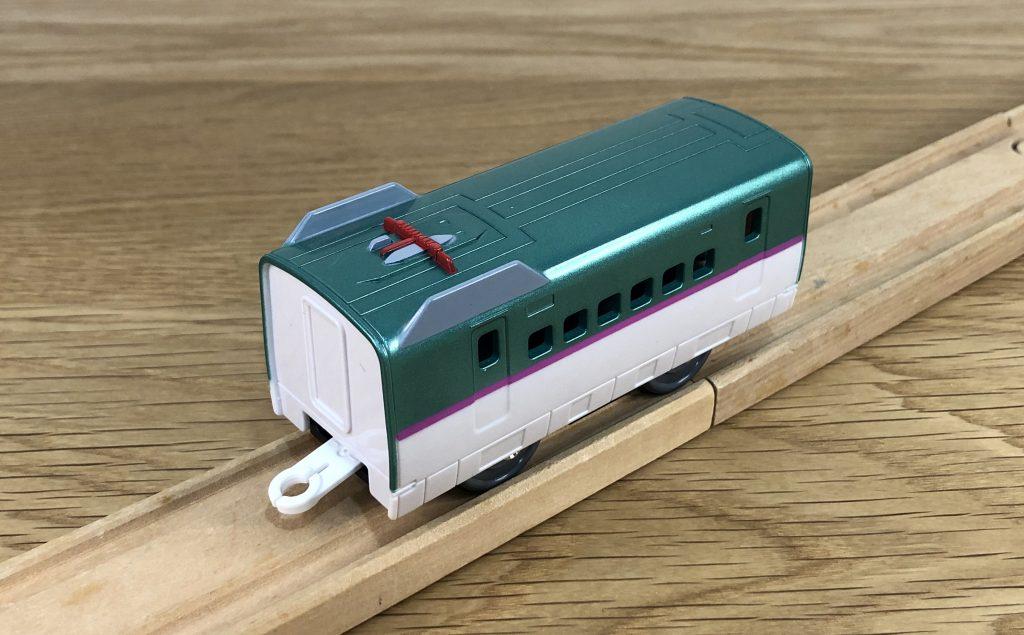 プラレール S-16 レールで速度チェンジ!! E5系 新幹線 はやぶさ