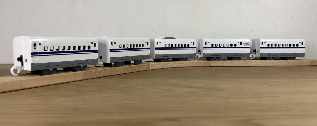プラレール 長編成で走らせよう! 新幹線 N700S確認試験車 中間車セット