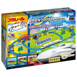 プラレール かっこいいがいっぱい!新幹線 N700S立体レイアウトセット 発売