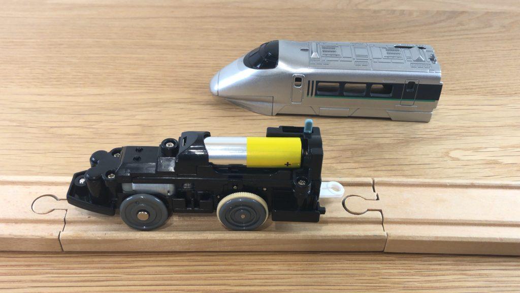 プラレール ぼくもだいすき! たのしい列車シリーズ 400系新幹線(連結仕様)