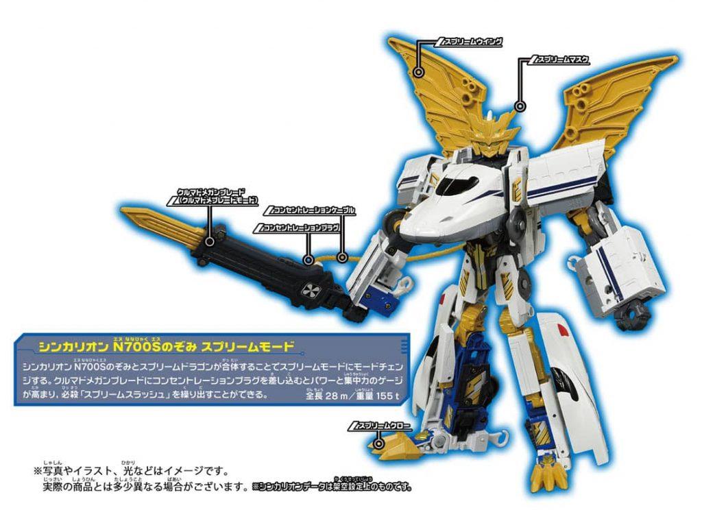 新幹線変形ロボ シンカリオン DXS シンカリオン N700Sのぞみ