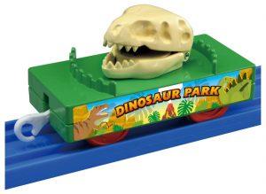 プラレール きかんしゃトーマス 恐竜の骨運搬貨車 発売