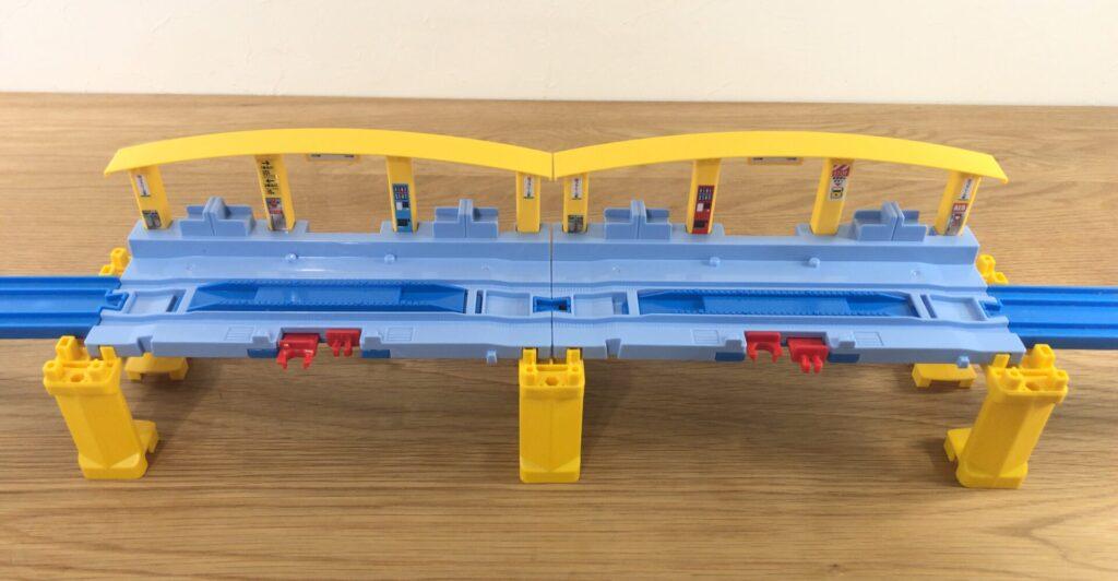 プラレール J-11 つなげよう!くみかえプラレール駅