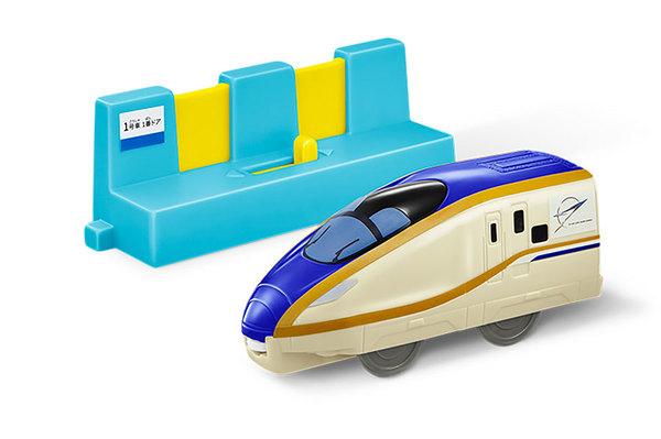 ハッピーセットプラレール E7系新幹線かがやき+ホームドア