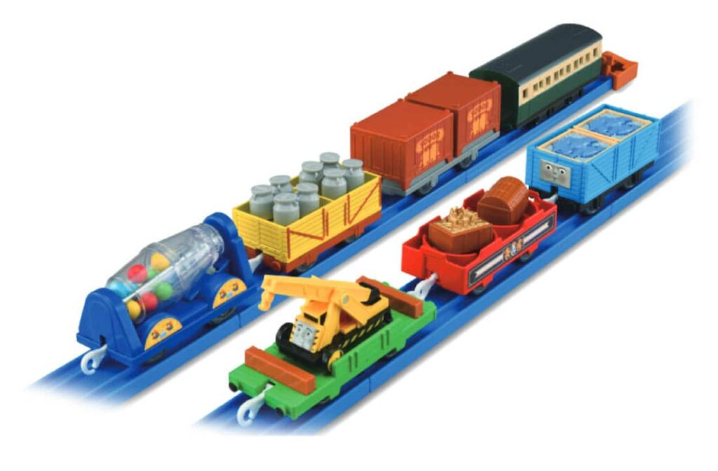 プラレール きかんしゃトーマス つなげてあそぼう!いっぱい貨車コレクション