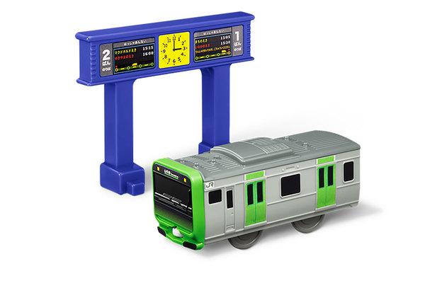 ハッピーセットプラレール E235系山手線+発車標