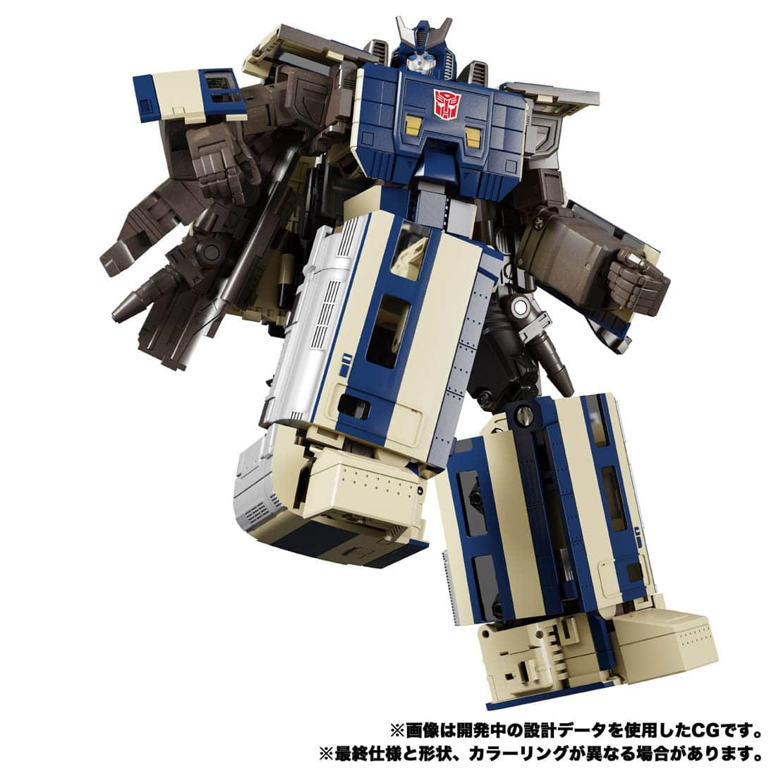 トランスフォーマー MPG-01 トレインボットショウキ